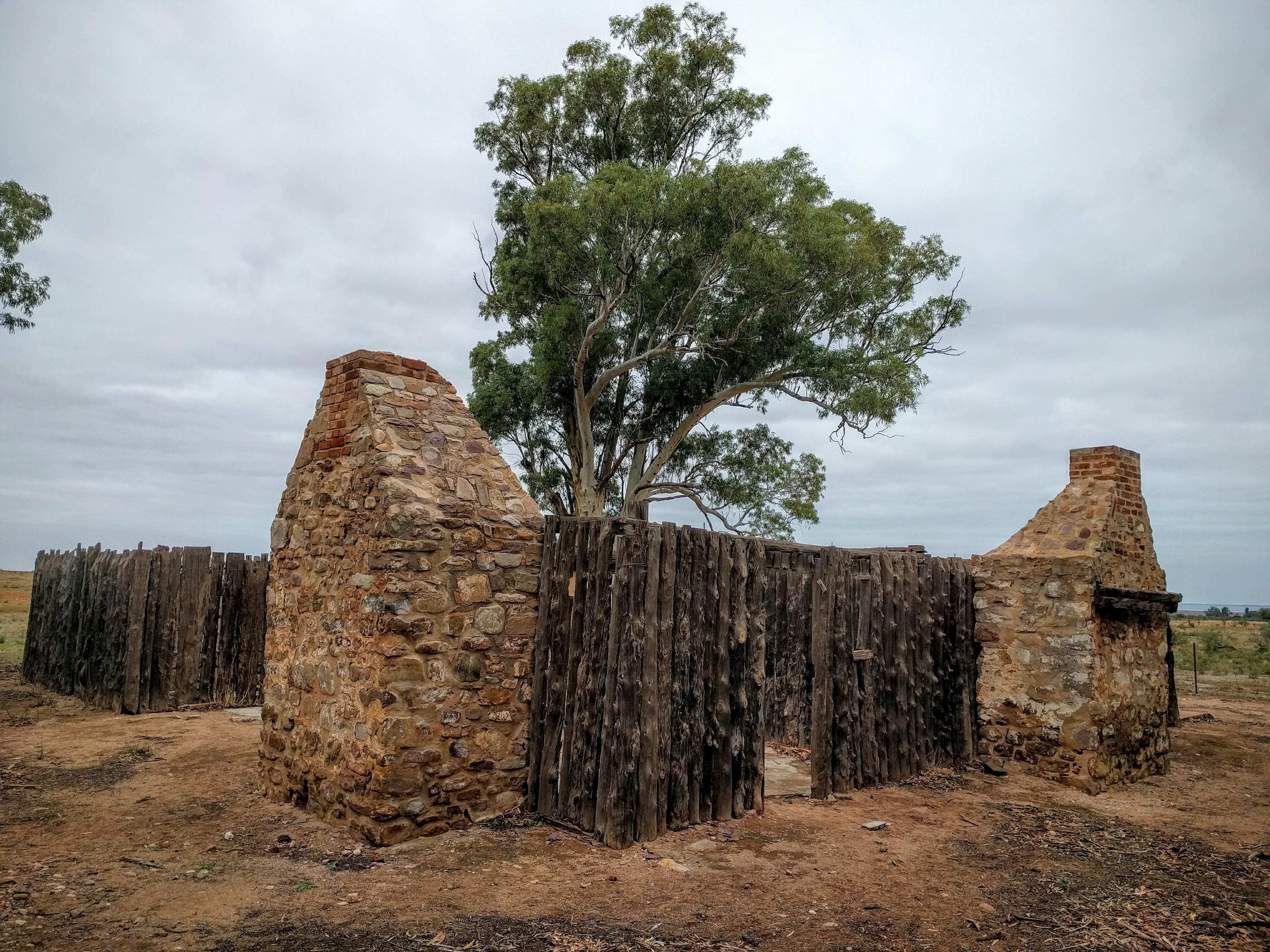 Baroota Homestead ruins