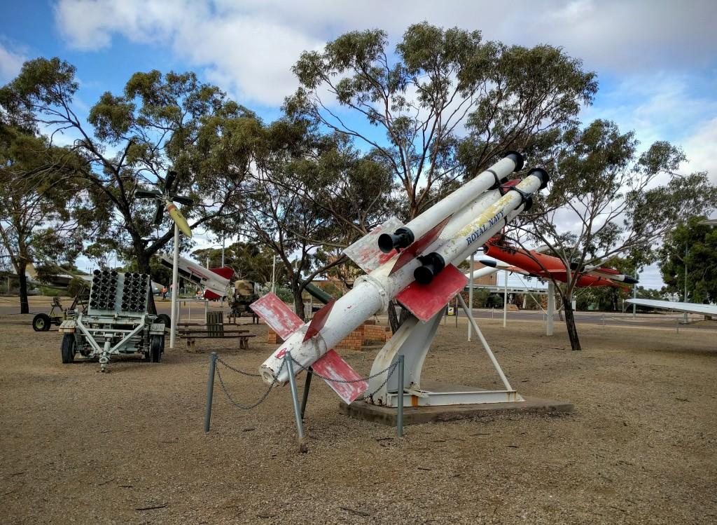 Woomera missiles