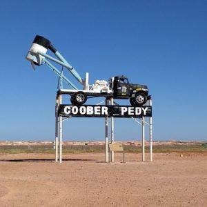 Coober Pedy Sign