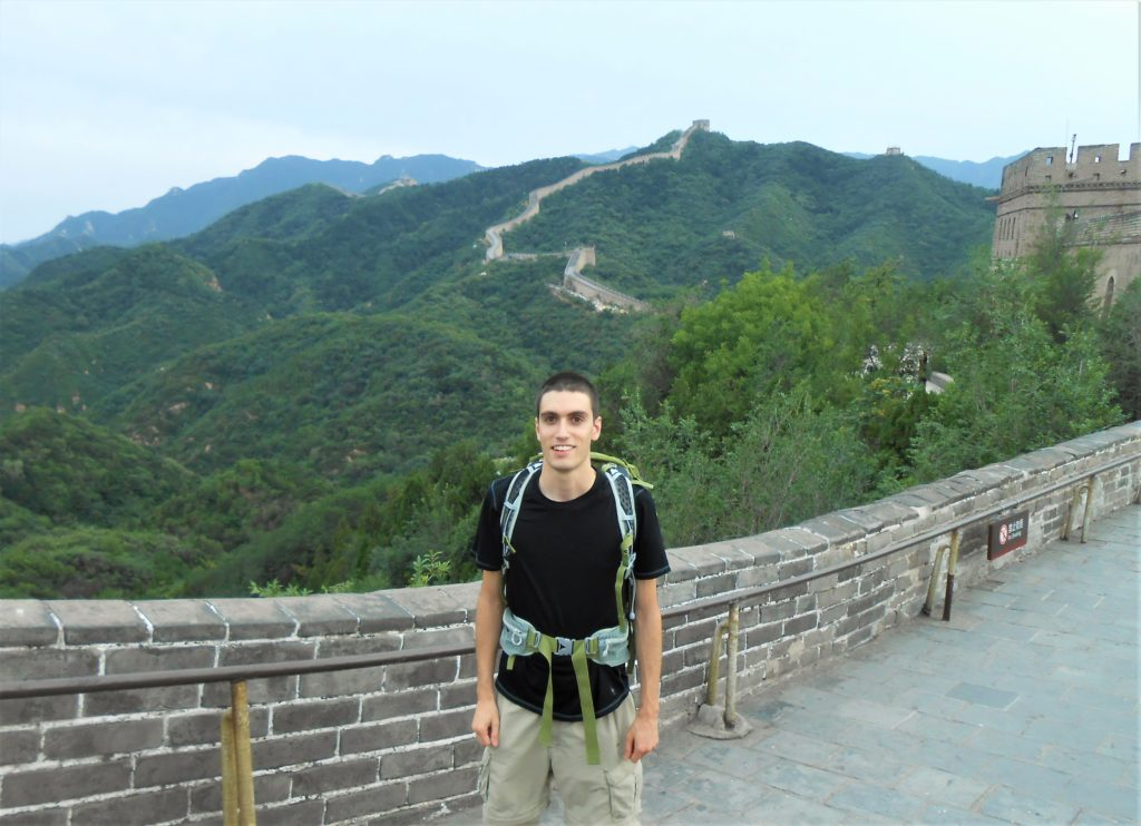 Josh Smith on the Great Wall of China
