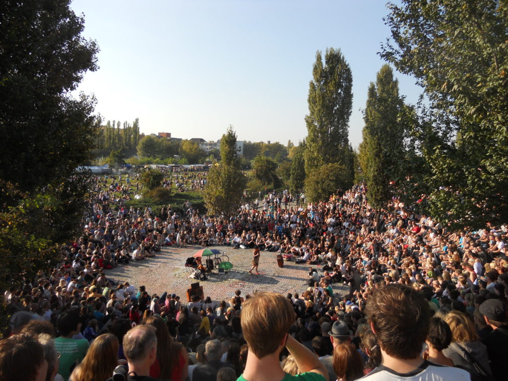 Summer Karaoke at Mauerpark in Berlin
