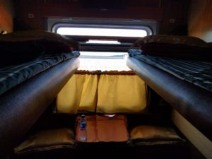 Mongolian Train Four Berth
