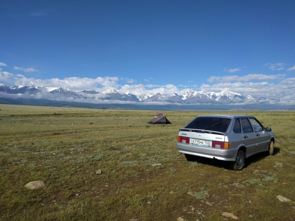Altai Mountains near Kuray