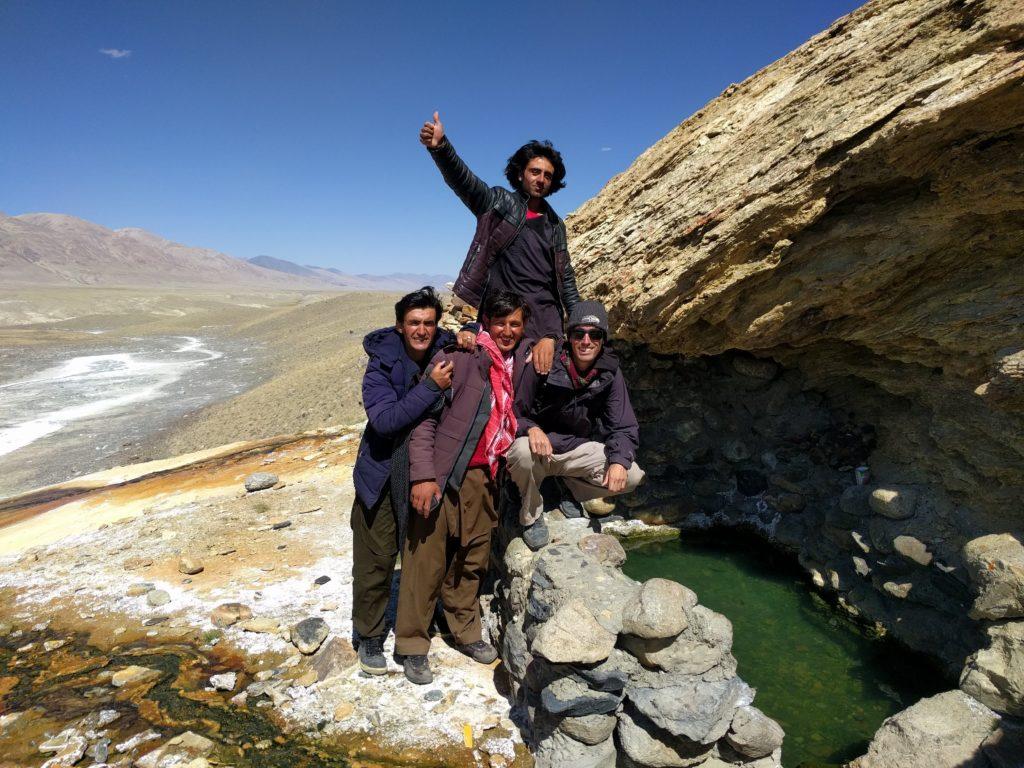 Little Pamir hot spring