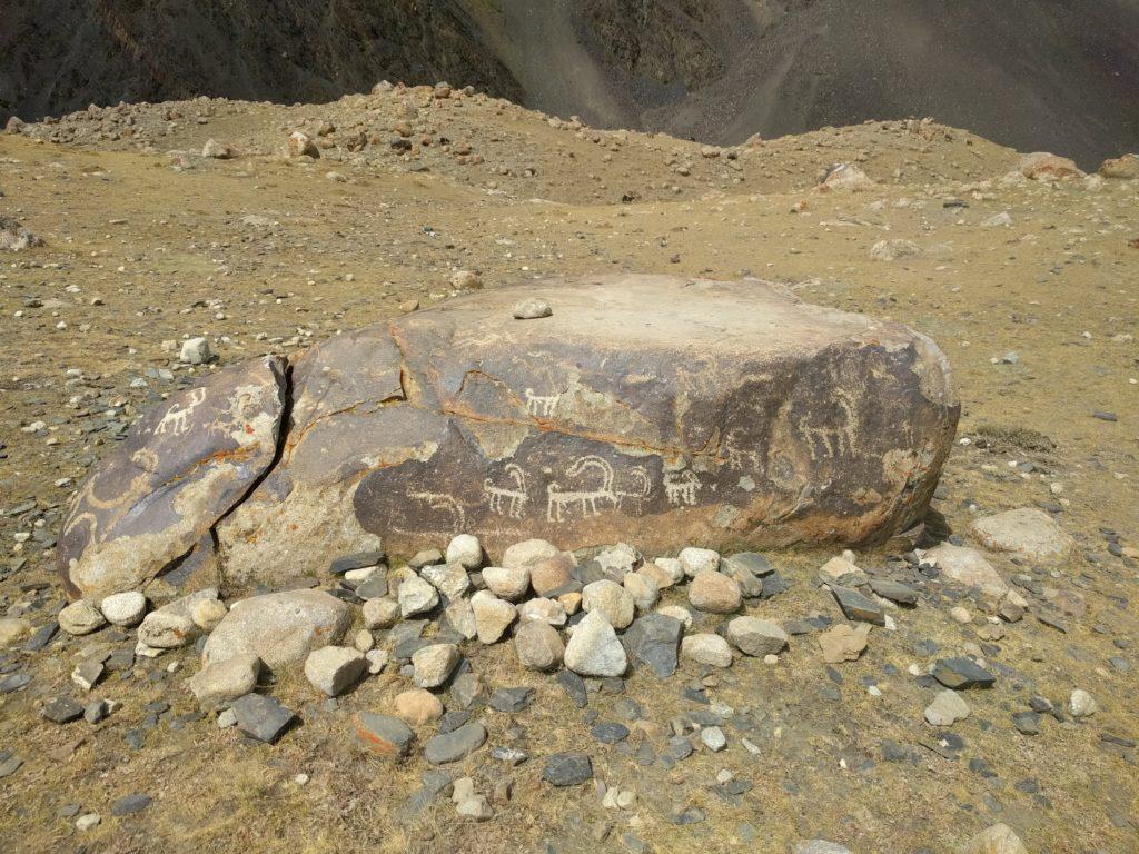 Petroglyphs at Sangnawishta