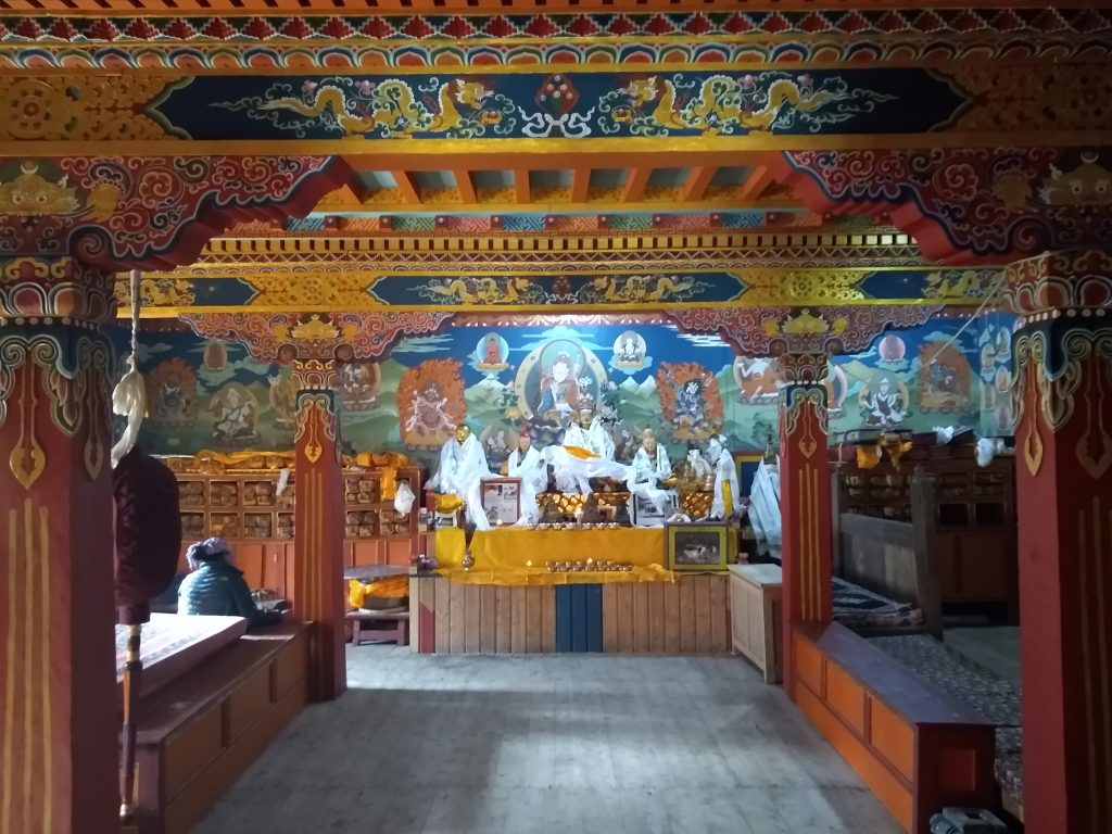 Kyangin Gompa Monastery