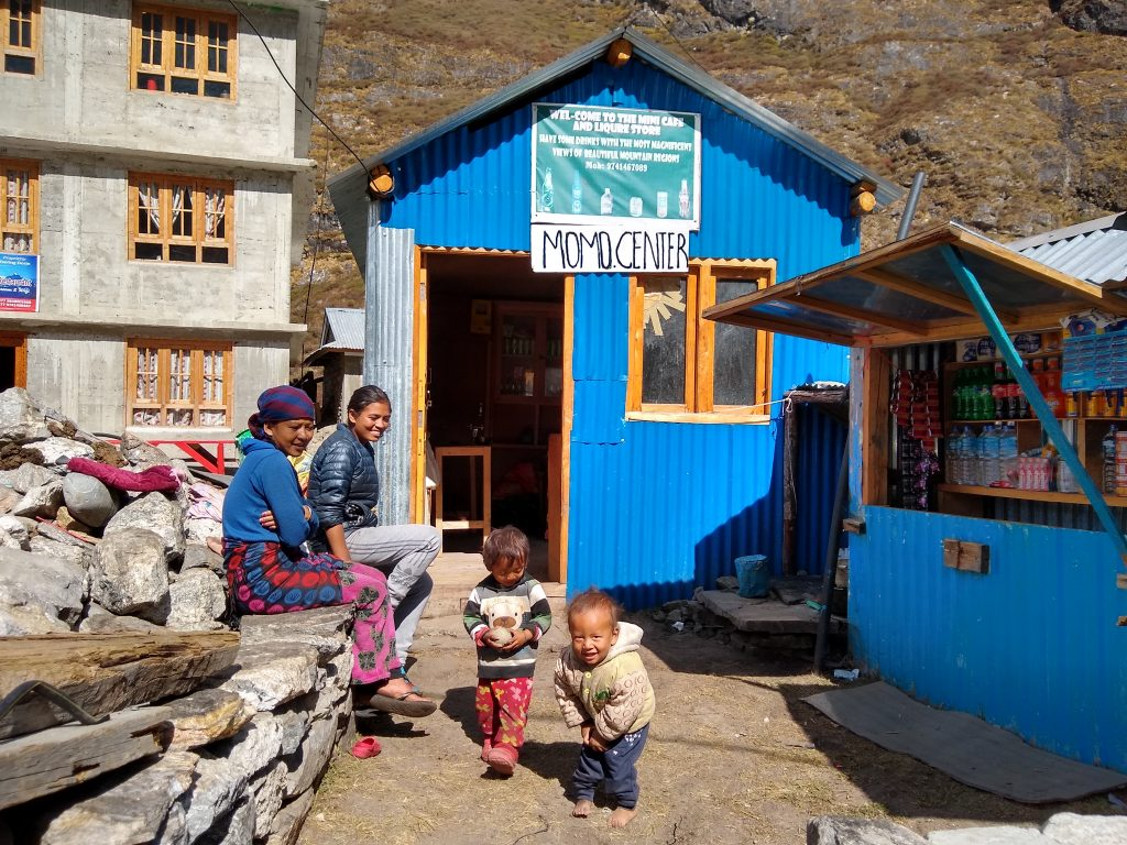 Children in Langtang Village